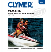 Yamaha Clymers Manual 1987-1992