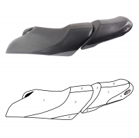 Custom Yamaha Seat Cover for VXS VXS Deluxe 2015 2016