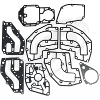 Yamaha Exhaust Gasket Kit 500 Wave Jammer /WaveRunner /WaveRunner VXR 1988 1989 1990 1991 1992