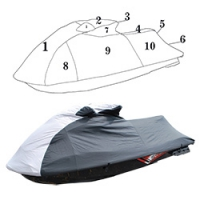 Custom Storage Cover for Yamaha FZS 2009 2010 2011 2012 2013