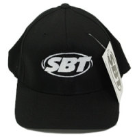 SBT Black Flex Fit Ball Cap