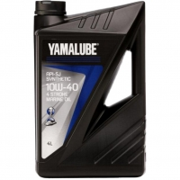 Моторное Масло, Yamalube(Yamaha) (4T SJ) SYNTHETIC 10W40 4л